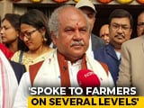 Video : Ready To Listen To Protesting Farmers, Says Union Agriculture Minister