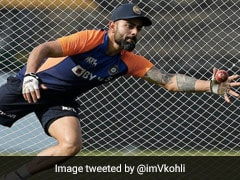 """""""Work Goes On"""": Virat Kohli Sweats It Out Ahead Of 2nd Test. See Pics"""
