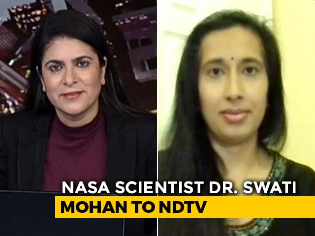 "Video : ""Surreal Feeling of It Still Needs To Sink In"": Indian-American NASA Scientist On Mars Audio"