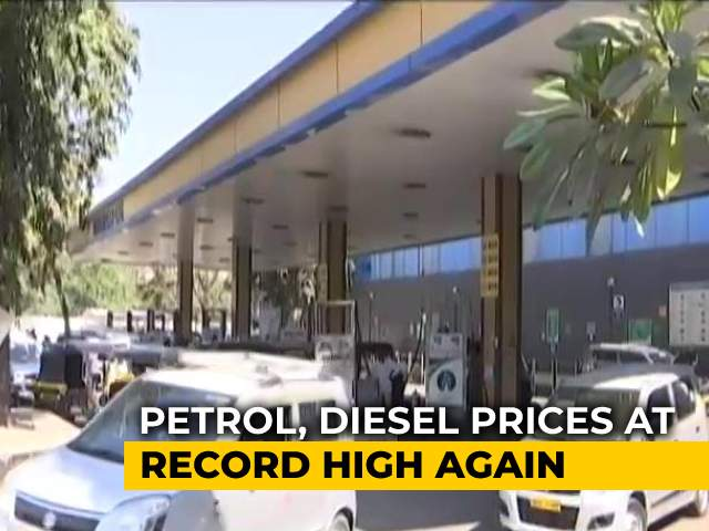 Video: Petrol, Diesel Prices At Record High Again