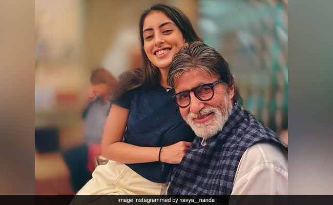 Amitabh Bachchan And Granddaughter Navya Naveli In A Pic. Need We Say More?