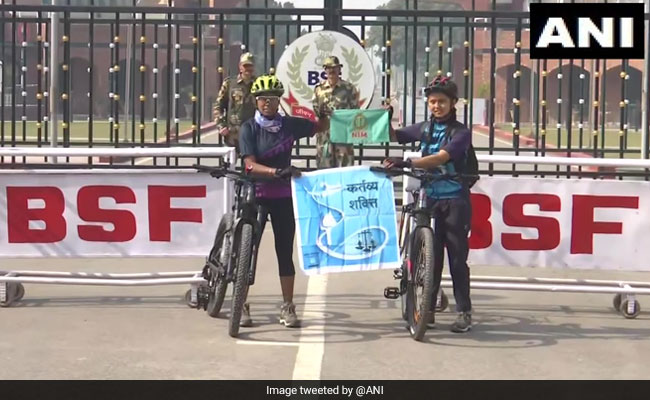 Women Undertake 5,000 Km Cycle Expedition To Promote Women Empowerment