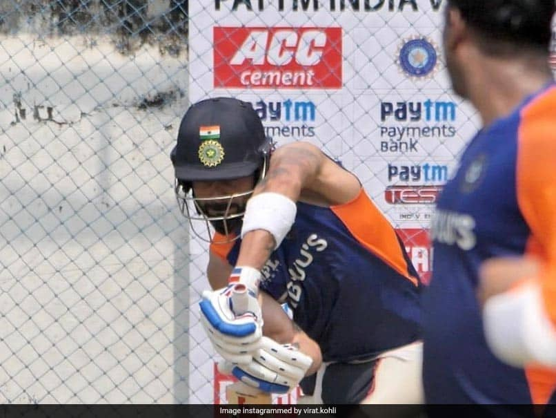 India vs England: Virat Kohli Hits The Nets For The First Time In Chennai. Watch