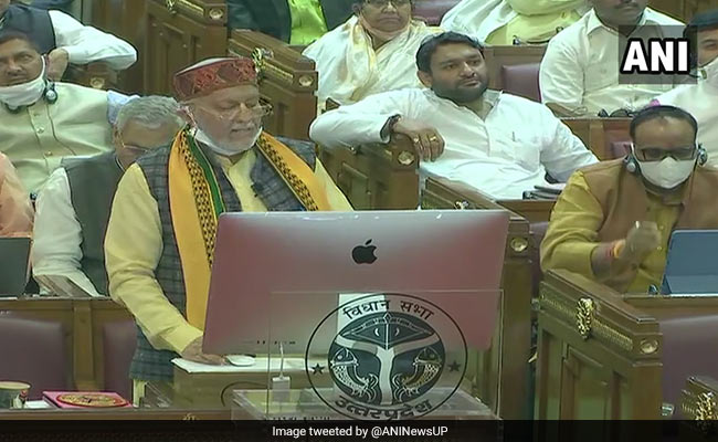 UP Budget 2021 Live Updates: UP Presents Rs 5.5 Lakh Crore Budget To Make State 'Aatmanirbhar'