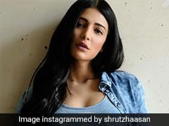 Shruti Haasan's Spunky Look Schools Us On How To Wear Denim On Summer Days
