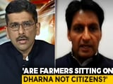 "Video : ""Why Aren't Farmers' Lives More Important Than Tweets"": Deepender Hooda To NDTV"