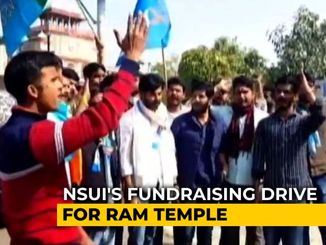 Video : 'Donate To Correct Account': Congress On Why It Started Temple Fund Drive
