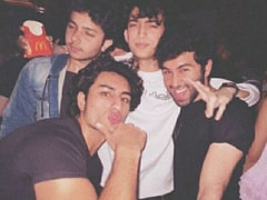 Viral: Pics From Ibrahim Ali Khan And Nirvaan Khan's Party Time With Friends