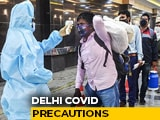 Video : Delhi To Make -ve Covid Report Must For Arrivals From 5 States: Sources