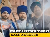 "Video : ""His Sword Dancing Motivated Protesters"": Red Fort Case Accused Arrested"