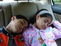 Don't Wake Little Navya Naveli And Agastya Nanda In This Epic Throwback
