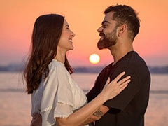 "Valentine's Day 2021: Anushka Sharma, ""Not Too Big On This Day"", Shared Sunset Pic With Virat Kohli Because..."