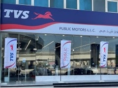 TVS Signs On Public Motors As Distribution Partners In UAE