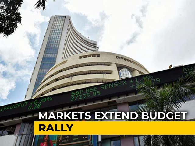 Video : Sensex Rallies Nearly 1,200 Points; Nifty Settles Above 14,600