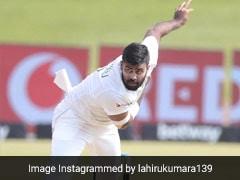 Sri Lanka Fast Bowler Lahiru Kumara Tests Positive For Coronavirus