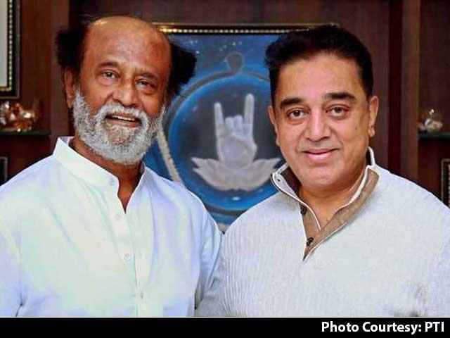 Video : Kamal Haasan Meets Rajinikanth, Says No Politics Discussed