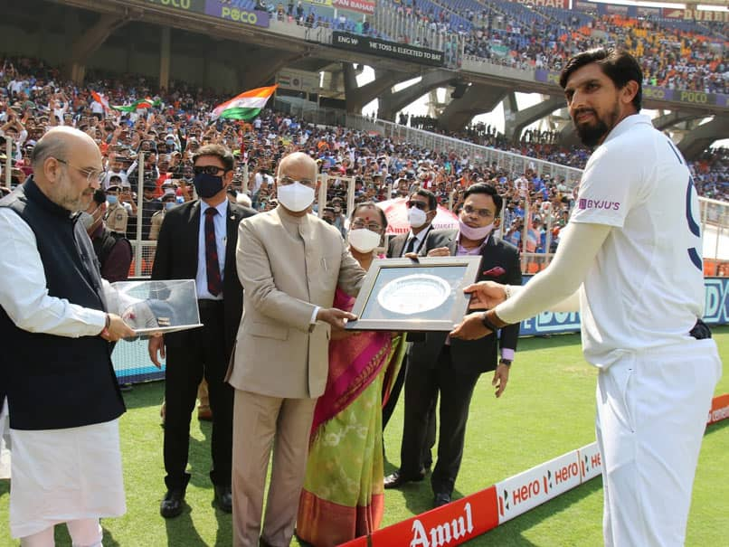 India vs England: Ishant Sharma Felicitated By President Ram Nath Kovind, Home Minister Amit Shah For 100th Test