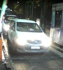 Caught On CCTV: Car Linked To Mukesh Ambani Security Scare Leaves Mumbai