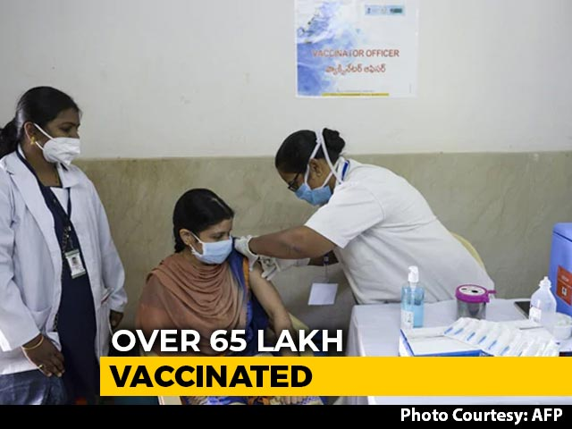 Video : 65.28 Lakh Frontline Workers Vaccinated So Far: Centre