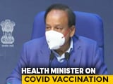 Video : Covid Vaccination Of Those Above 50 Years From March: Health Minister