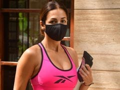 Malaika Arora Gives The Mid-Week A Pop Of Colour With Her Spunky Workout Gear