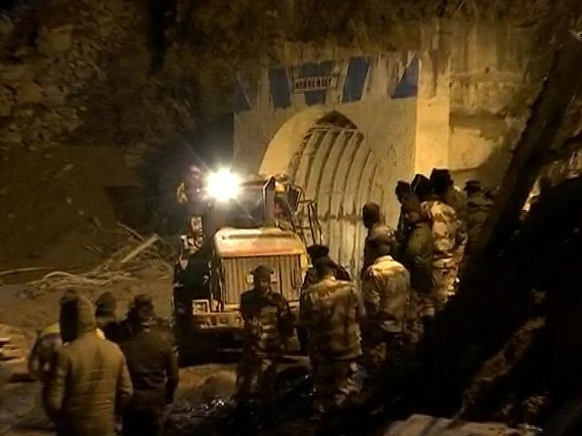 Video : Overnight Tunnel Rescue In Uttarakhand For 39, Day After Glacier Burst