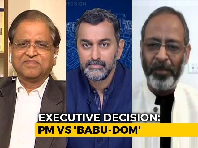 Video : Top Former IAS Officials React To PM Modi's Criticism In Parliament
