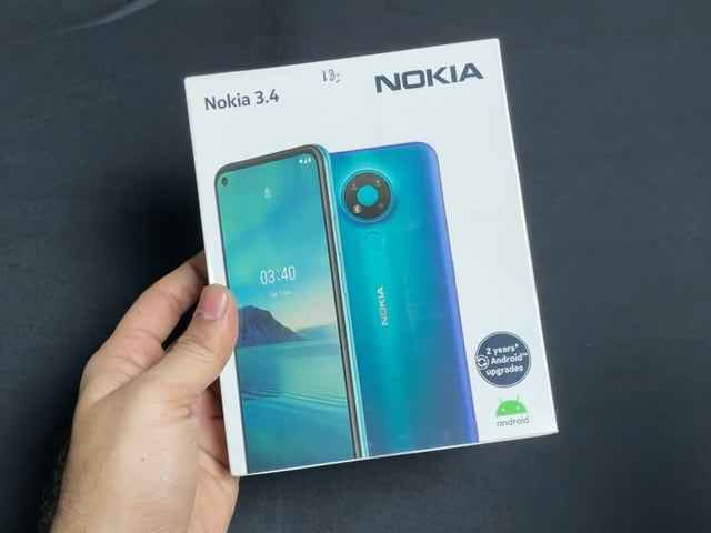 Video : Nokia 3.4 Unboxing: Android One on a Budget