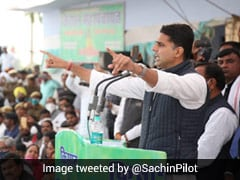 Sachin Pilot Seeks Withdrawal Of Cases Against Farmers At <i>Mahapanchayat</i>