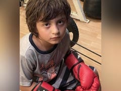 """My Mike Tyson"": Gauri Khan's Caption For This Adorable Pic Of Son AbRam"