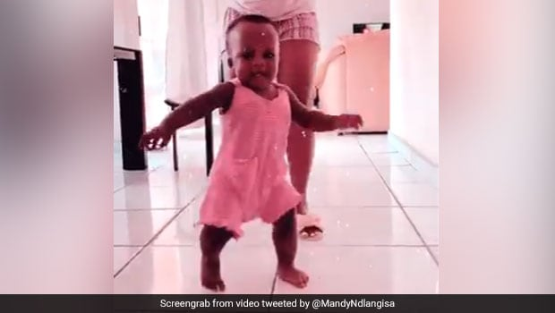 Funny Video Of Baby Running Away From Food Is The Cutest Thing You'll See Today