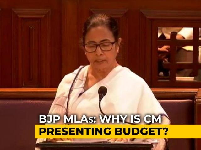 Video : Mamata Banerjee Presents Vote-On-Account, Opposition Boycotts Speech