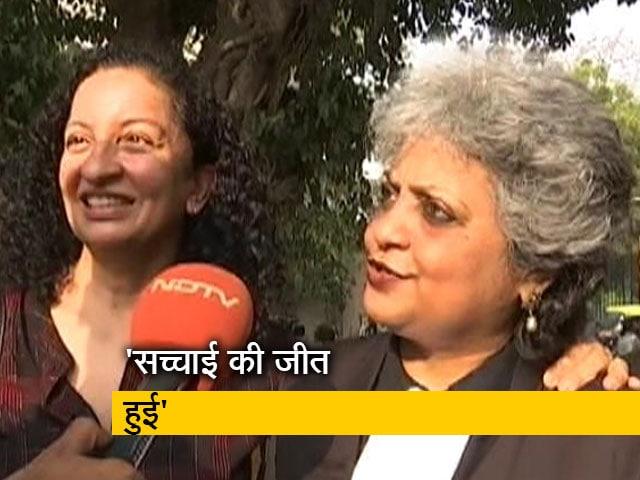 Video : मानहानि केस में प्रिया रमानी के बरी होने पर बोलीं वकील- कोर्ट का यह फैसला सच्चाई की जीत का इशारा है
