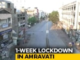 "Video : ""Please Cooperate, Else..."": Cops On Lockdown In Maharashtra's Amravati"