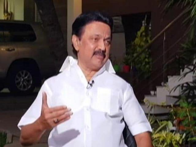 Video : AIADMK's Policy Is Corruption, Commission, Collection: MK Stalin To NDTV