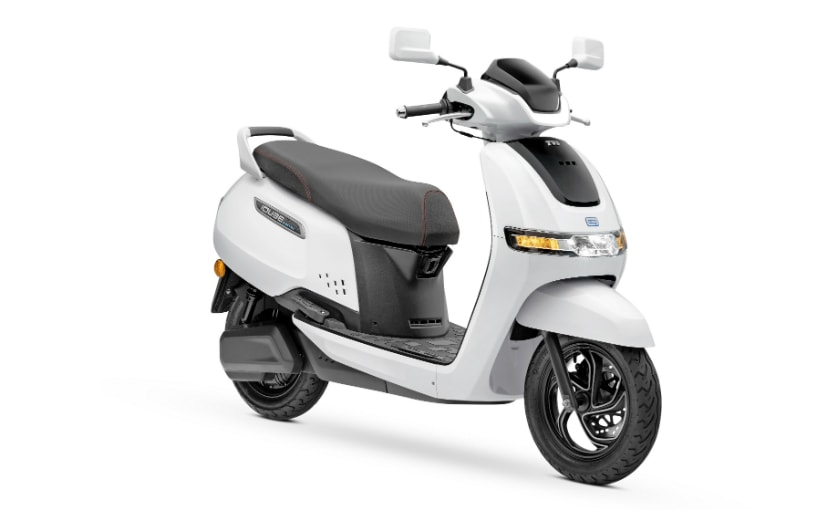 TVS iQube Electric Scooter Launched In New Delhi; Priced At Rs. 1.08 Lakh - carandbike