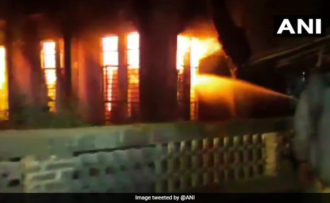 Fire At Electricity Office In Maharashtra's Thane; None Hurt