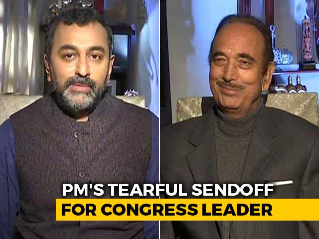 Video : Ghulam Nabi Azad's Swan Song