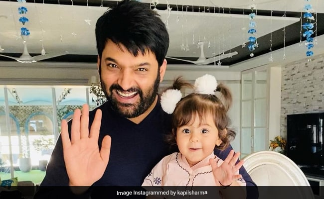 The Internet Is All Hearts For This Pic Of Kapil Sharma And Baby Anayra - NDTV