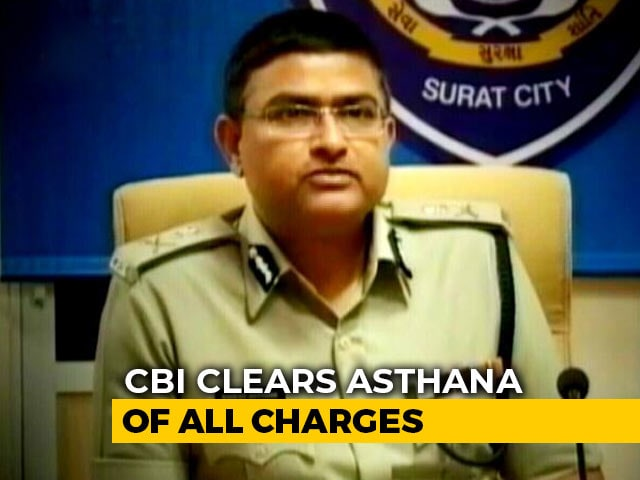 Video : CBI Clears Officer Rakesh Asthana Of All Charges, Say Sources