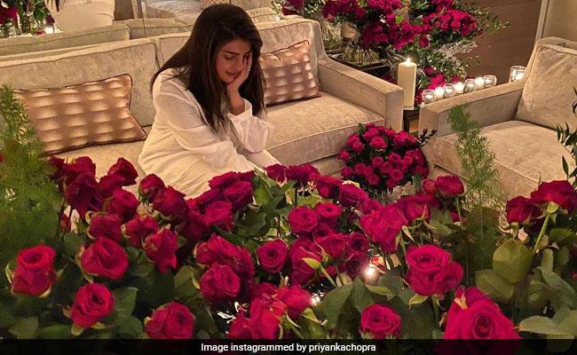Priyanka Chopra And Nick Jonas' Long-Distance Valentine's Day Celebrations Look Like A Dream