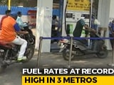 Video : Petrol, Diesel Prices Touch Record Highs After 2-Day Pause