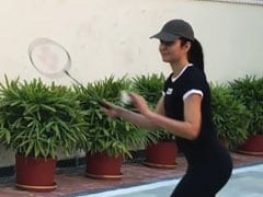 "Katrina Kaif Vs Siddhant Chaturvedi In ""A Very Professional Looking Game Of Badminton."" Watch Epic Video"