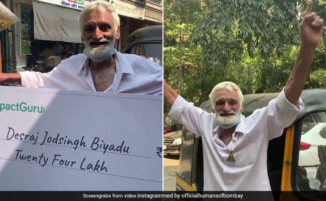 Mumbai Auto Driver Receives Rs 24 Lakh After His Moving Story Goes Viral