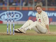India vs England: Ben Stokes Seen Applying Saliva To The Ball, Umpire Has A Word With Him