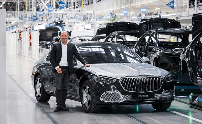 The 50 millionth vehicle is the first new Mercedes-Maybach S-Class