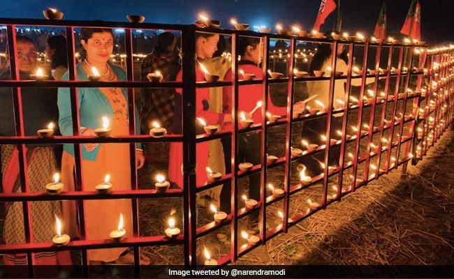 """Glad To See Enthusiasm"": PM Modi Tweets Pics Ahead Of Assam Visit"