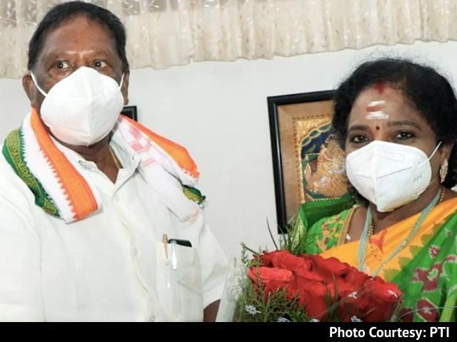 Video : Puducherry Floor Test Monday, Says Lieutenant Governor, Amid Congress Crisis