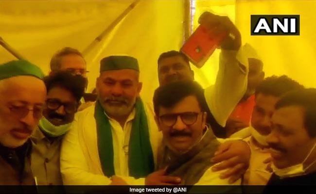 Shiv Sena's Sanjay Raut Meets Ghazipur Farmers Today 'At Uddhav Thackeray's Behest'
