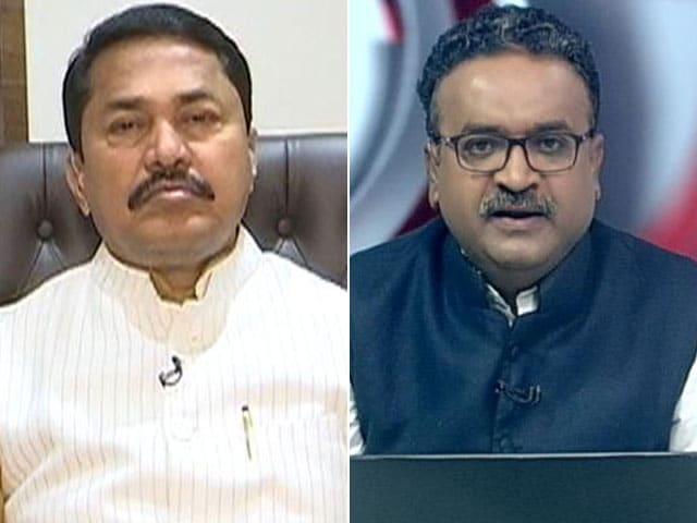 Videos : NDTV से बोले नाना पटोले- मनमोहन सरकार में सेलिब्रिटीज की जवाबदेही थी अब नहीं है क्या?